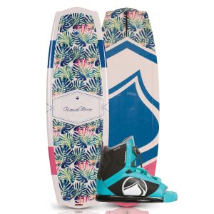 Liquid Force 2019 Angel 135 w/ Plush Women's Wakeboard & Bindings Package