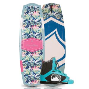 Liquid Force 2019 Angel 139 w/ Plush Women's Wakeboard & Bindings Package