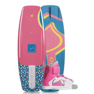 Liquid Force 2019 Dream 120 w/ Dream Kid's Wakeboard & Bindings Package