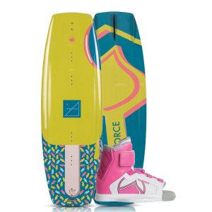 Liquid Force 2019 Dream 125 w/ Dream Kid's Wakeboard & Bindings Package