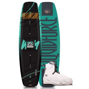 Liquid Force 2019 Eclipse 164 w/ 4D Tao Wakeboard & Bindings Package