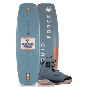 Liquid Force 2019 Peak w/ 4D Peak Wakeboard & Bindings Package
