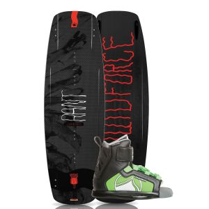 Liquid Force 2019 Rant 131 w/ Rant Kid's Wakeboard & Bindings Package