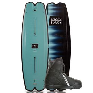 Liquid Force 2019 Remedy 134 w/ Classic Wakeboard & Bindings Package