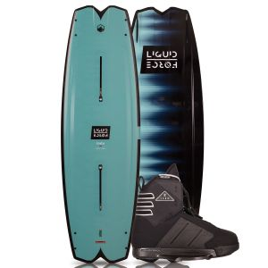 Liquid Force 2019 Remedy 134 w/ Form Wakeboard & Bindings Package