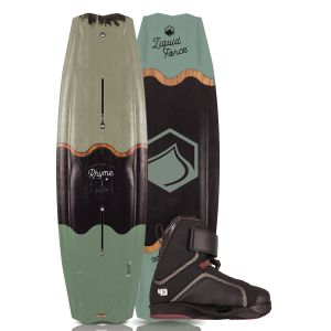 Liquid Force 2019 Rhyme 139 w/ 4D Pulse Wakeboard & Bindings Package