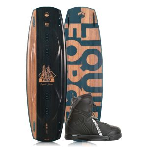 Liquid Force 2019 Timba 136 w/ Classic Wakeboard & Bindings Package