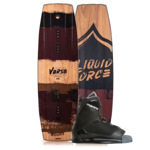 Liquid Force 2019 Verse 138 w/ Transit Wakeboard & Bindings Package