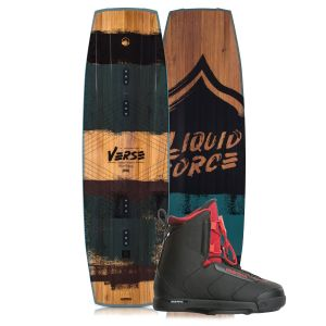 Liquid Force 2019 Verse 142 w/ Hitch Wakeboard & Bindings Package