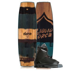 Liquid Force 2019 Verse 142 w/ Transit Wakeboard & Bindings Package