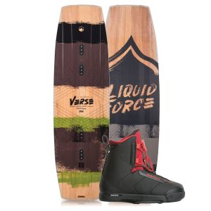 Liquid Force 2019 Verse 146 w/ Hitch Wakeboard & Bindings Package