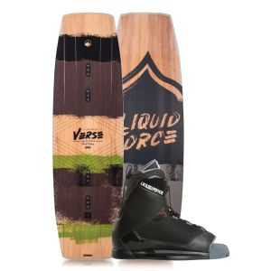 Liquid Force 2019 Verse 146 w/ Transit Wakeboard & Bindings Package