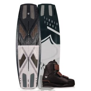 Liquid Force 2019 Watson Dose w/ 4D Hook Wakeboard & Bindings Package