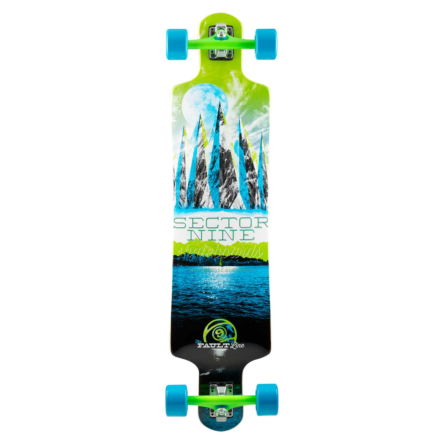 Sector 9 Faultline Complete (Green) Longboard at Sears.com