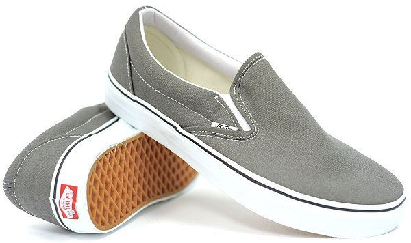 Vans Classic Slip-On (Charcoal) Mens Skate Shoes at Sears.com