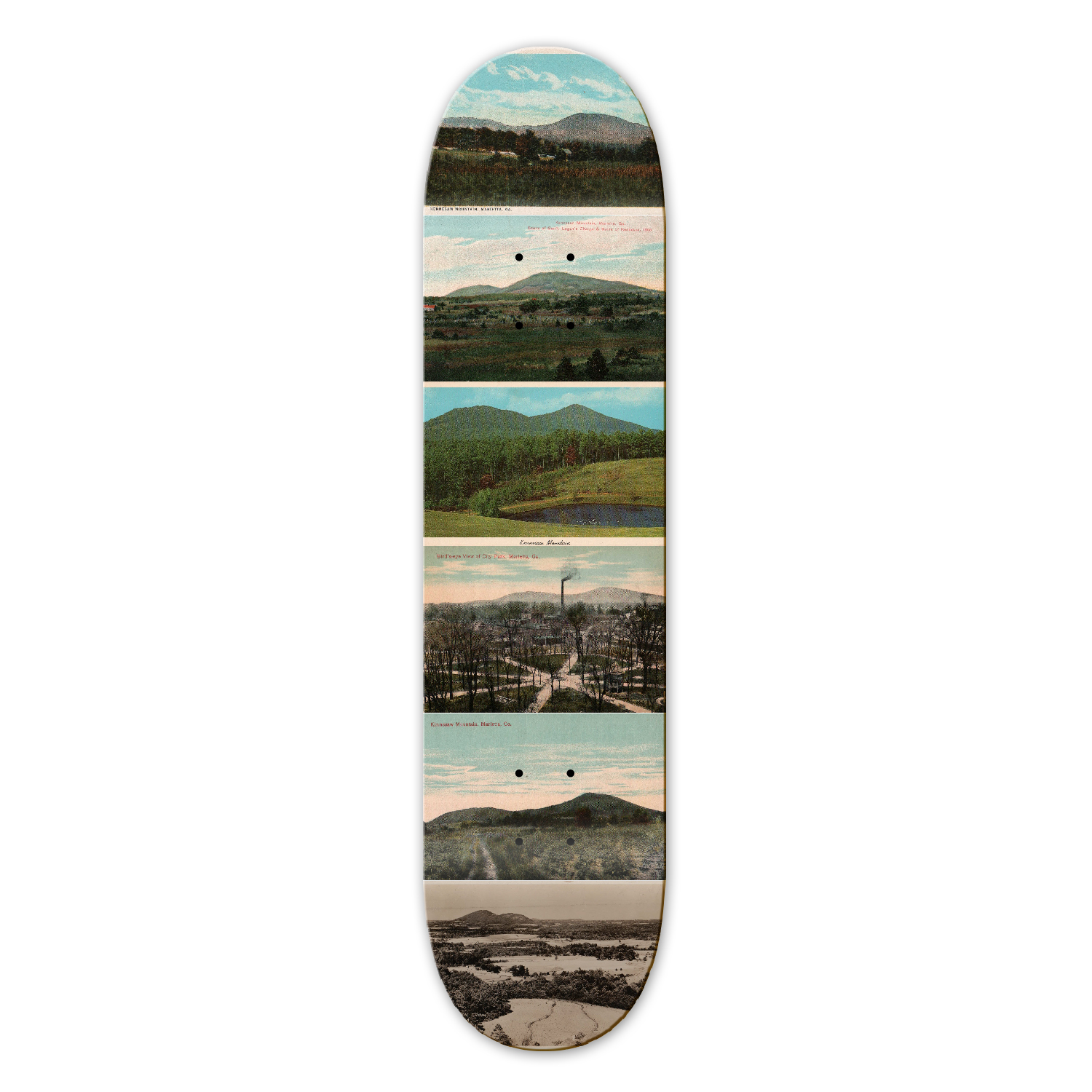 Kennesaw Mountain Skateboard Deck