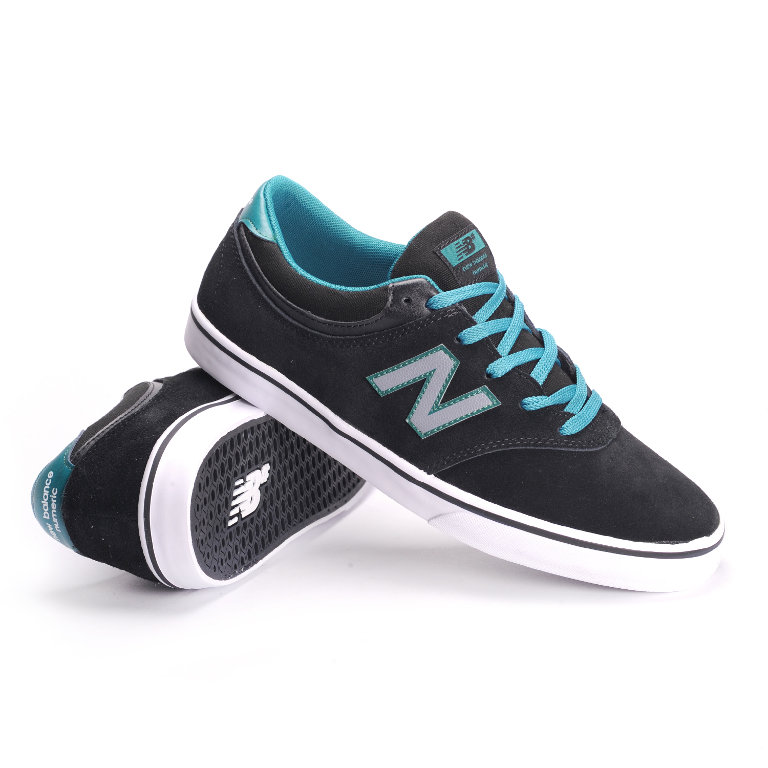 new balance skate shoes. new-balance-numeric-quincy-254-black-jade-men- new balance skate shoes