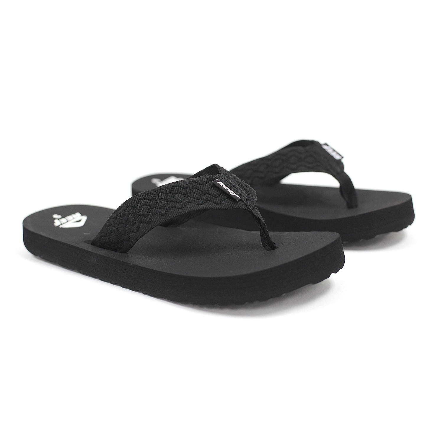 b5034046074f Image is loading Reef-Smoothy-Black-Men-039-s-Sandals