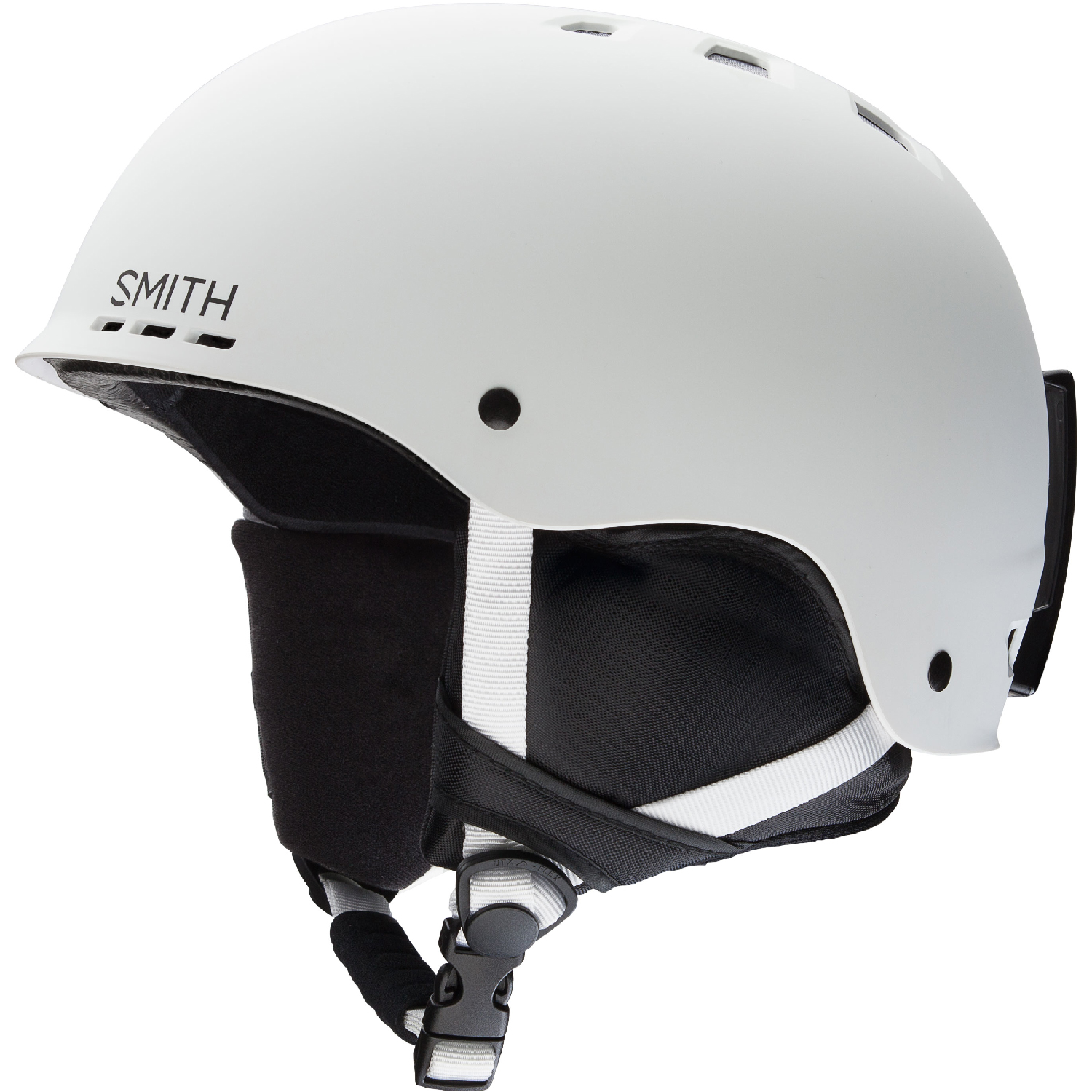 Smith Optics 2019 Holt (Matte White) Snowboard  Helmet  support wholesale retail