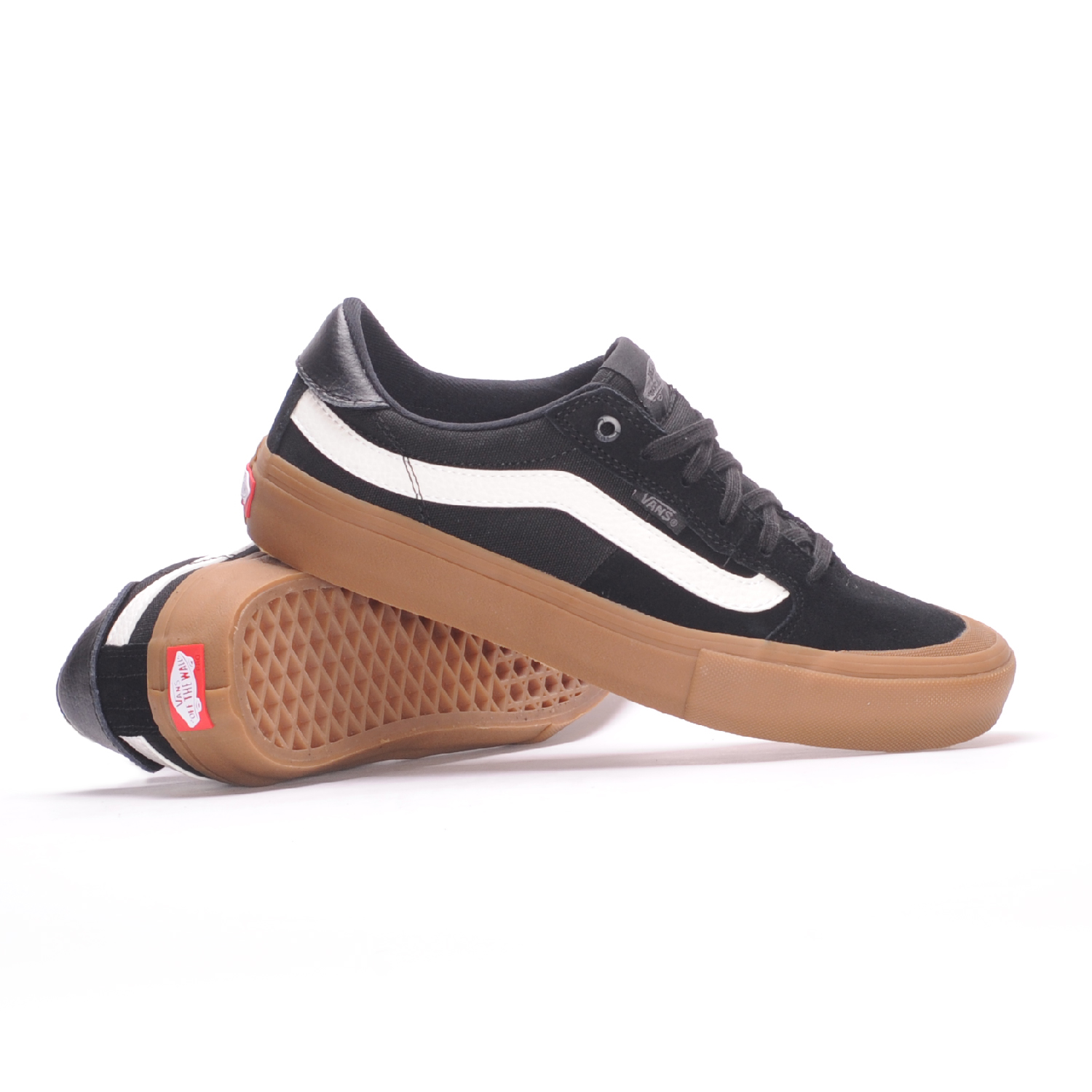 vans style 112 pro black and white