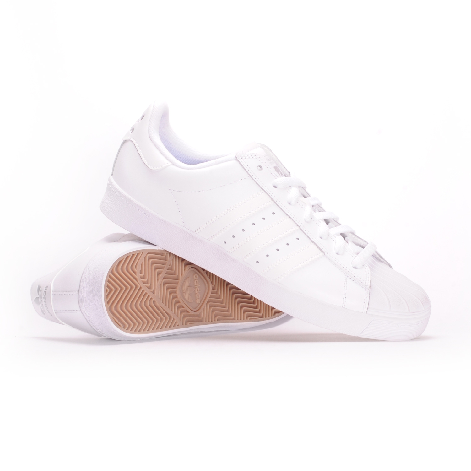 Adidas Superstar Vulc Adv Collegiate Navy Cream White Hers trainers
