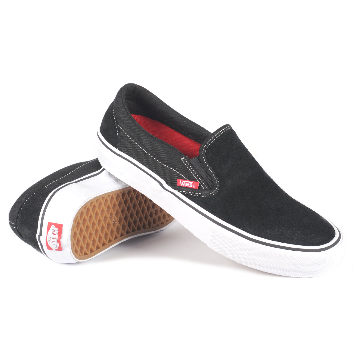 vans mens black shoes