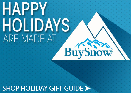 BuySnow.com 2015 Holiday Gift Guide
