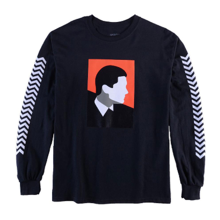 Habitat x Twin Peaks Cooper (Black) Long Sleeve T-Shirt