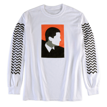 Habitat x Twin Peaks Cooper (White) Long Sleeve T-Shirt
