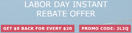 BuyWake.com Labor Day Instant Rebate Offer