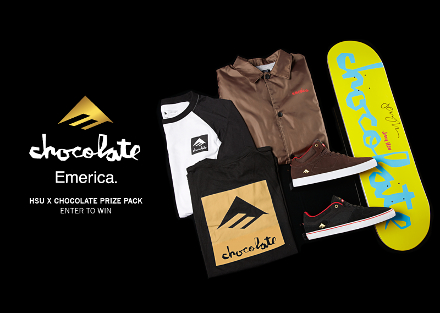 Enter to Win | Emerica x Chocolate Jerry Hsu Prize Pack