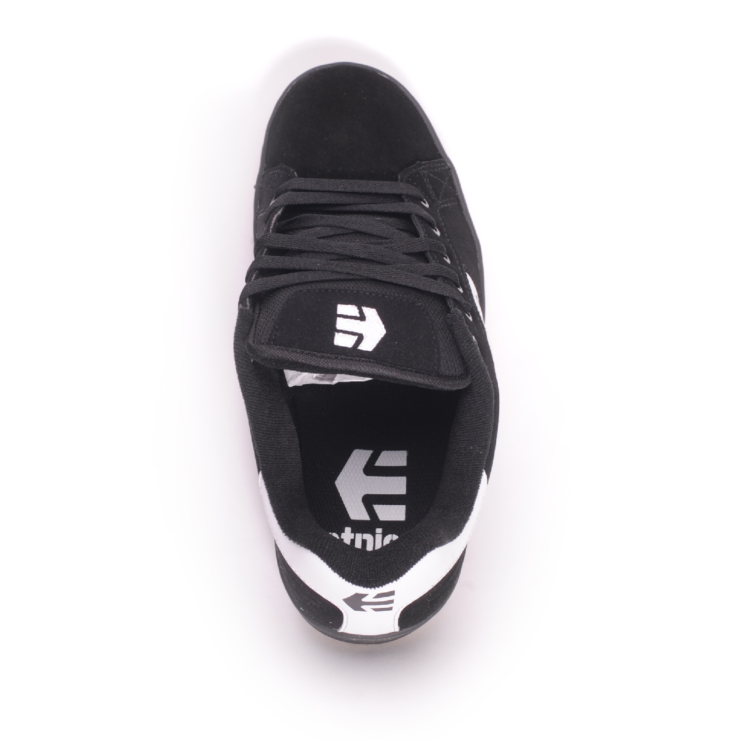 Etnies-Calli-Cut-Black-White-Black-Men-039-s-Skate-Shoes thumbnail 4